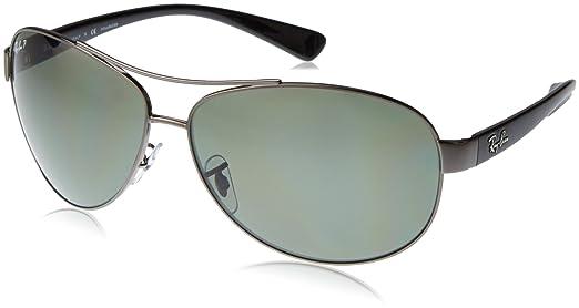 ray ban unisex  ray-ban Unisex - Adults Mod. 3386 Sunglasses, gray, size 67 ...