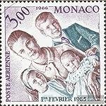 Gebiet: Monaco, Ausgabeanlass: 1966 Prinzessin Stephanie, Titel: 825 (kompl.Ausg.), Jahrgang: 1966,