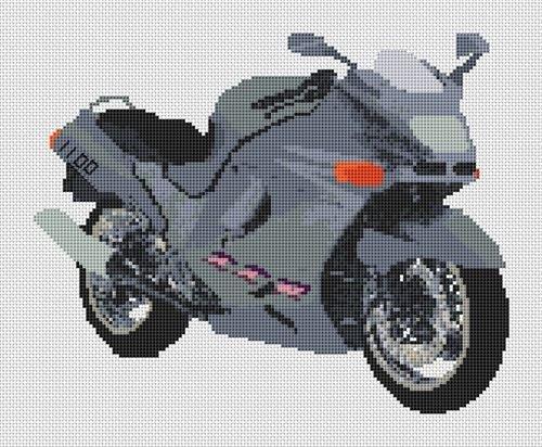 Kawasaki Zzr 1100Moto Cross Stitch Chart d'occasion  Livré partout en Belgique