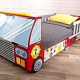 KidKraft 76031 Feuerwehrauto Kinderbett aus H...Vergleich