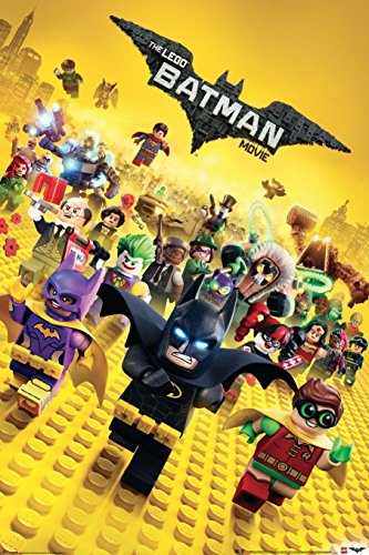 The LEGO Batman Movie Teaser (61cm x 91,5cm) + Ü-Poster