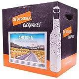 Produkt-Bild: Bierothek® Bierpaket Amerika (12 Flaschen Bier | außergewöhnliches Geschenk)