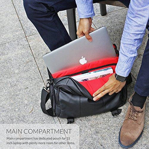 Snugg Laptoptasche 15.6 Zoll - 3