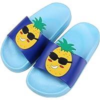 Jungen Mädchen Badelatschen Sommer Flache Hausschuhe Kinder Dusch-& Badeschuhe rutschfeste Sandalen