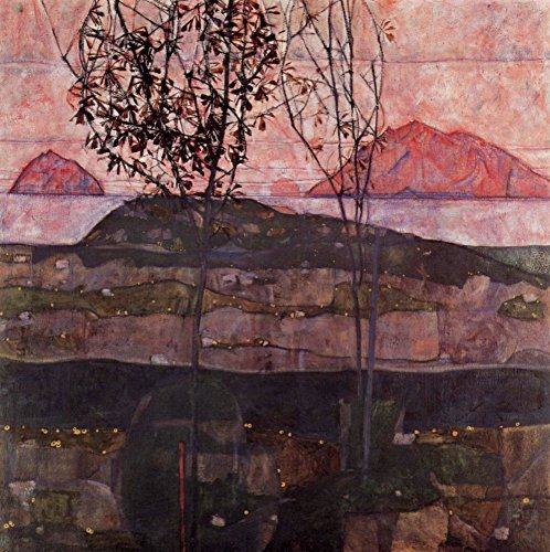 Das Museum Outlet–Underground Sun von Egon Schiele, gespannte Leinwand Galerie verpackt. 50,8x 71,1cm