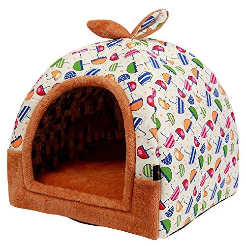 Hanshu - Casa para mascotas 2 en 1
