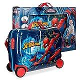 Spiderman Neo Valigia per bambini, 50 cm, 34 liters, Multicolore (Multicolor)