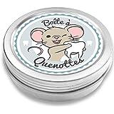 FANS & Friends Boîte à dents de lait pour garçons et filles, Coffret de rangement pour dents, Cadeau pour écolier, Petite Sou