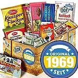 Original seit 1969 + Geschenke 50. Geburtstag Frau + Schokolade Ostpaket