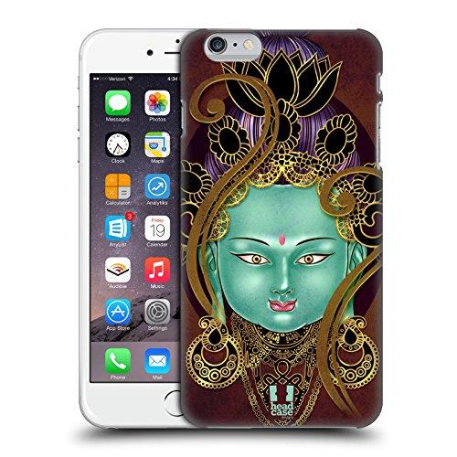 Head Case Designs Golden Buddah Bangkok Buddha Ruckseite Hülle für Apple iPhone 6 Plus / 6s Plus Grün Tara