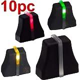 10x FADERKNOPF schwarz 6x2mm soft touch für Fader mit LED Schiebeknopf Fadercaps Faderkappen Caps für…