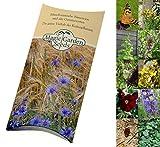 Magic Garden Seeds Saatgut Set: 'Schmetterlingsgarten', 5 nektarreiche Blühpflanzen, die gerne von Schmetterlingen besucht Werden für den naturnahen Garten ALS Samen in schöner Geschenkverpackung