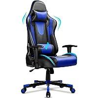 BASETBL Gaming Stuhl, Ergonomischer Gaming Sessel, PC Gamer Racing Stuhl Verstellbare Armlehne Bürostuhl Gaming Stuhl…