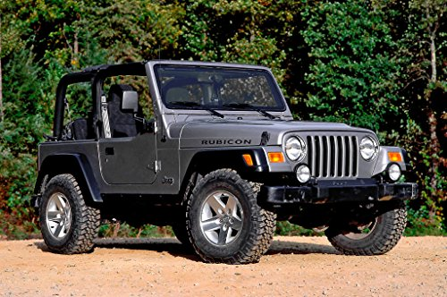 Jeep Wangler TJ (1997-2006) - Owner manual