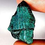 52.20CTS100% naturale blu Azzurrite Facet slice Rough Specimen gemma sciolto
