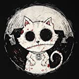 Zombie Cat T-Shirt Mens Goth Rock Kitty Undead Corpse Nightmare Horror
