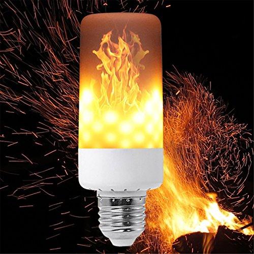 Antike Sockets Lampe (JIALUN- LED Lampen-Flammen-Effekt führte Feuer-Birnen-Flimmerflammen-Lichtfeuer, das E27 3528SMD 99LED 1900-2200K LED brennt)