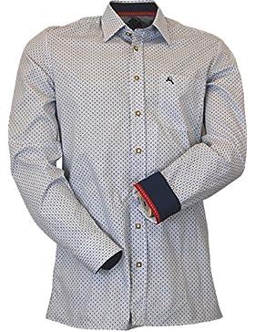 Hammerschmid Slim Line Trachten Retro Hemd Louis