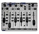 luxlady Mousepads Volumen Elektronische Mixer Bild 21610095Individuelle Art Desktop Laptop Gaming Mauspad