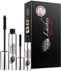 L.A. GIRL 4D Mascara Schwarz Natürliche Lange Wimperntusche Intensive Lange Natürliche Wimpern Wasserdicht
