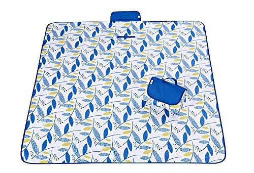 Baisde Portable Outdoor Picknick Decken Strand Picking Teppich Wasserdicht Oxford Tuch Camping Tote Mat 145*180/145*200/195*200 CM, M, 195*200cm -