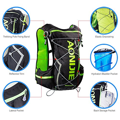 Imagen de lixada hydration pack  water bladder bag para correr senderismo ciclismo escalada camping ciclismo alternativa