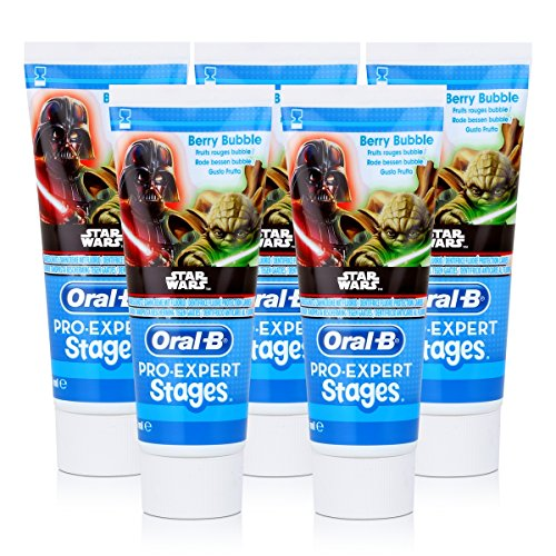 Oral-B Stages Kinder-Zahncreme 75ml Star Wars (5er Pack)