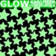 STARS Glow-in-the-Dark stickers - EXTRA SMALL