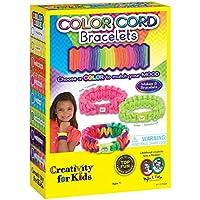 La Creatividad para Las Pulseras de cordón Niños Color