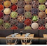Hlonl Benutzerdefinierte 3D Wandbild Tapete Moderne Ernte Getreide Lebensmittel Tapete Küche Wohnzimmer Hintergrund Wandmalerei Dekoration Wandbild-120X100CM
