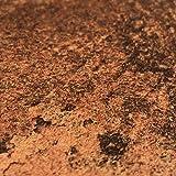 [23,63€/m²] Klebefolie in Rost-Optik [150 x 45cm] mit spürbar geprägter Oberfläche I Selbstklebende Metallic Folie für Möbel & Küche - hitzebeständig & abwaschbar I 3D Selbstklebefolie Metall-Optik