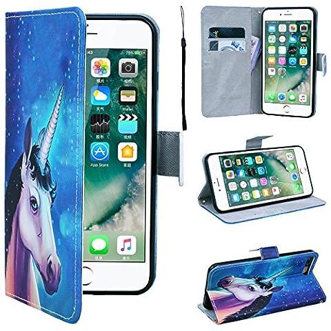 SmartLegend iPhone 7 Plus Wallet Case, iPhone 7+ Leather Case, Folio Flip Case Cover for Apple iPhone 7 Plus 5.5