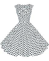 Maggie Tang 50er 60er Weinlese Tanzen Schwingen Pinup Rockabilly Cocktail Kleid