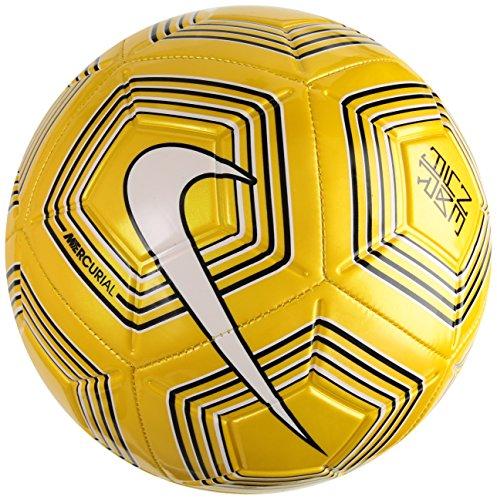 Nike Neymar Strike Ballon de Foot Mixte Adulte, Amarillo Black/White, 5