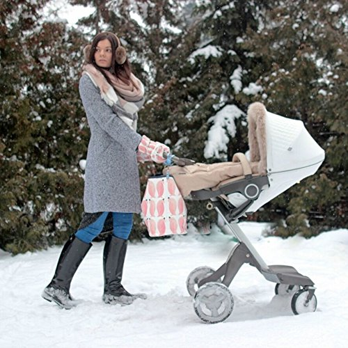 Sevira Kids Sac à langer - sac a main, Borsa tote donna beige Sweet Family Chessboard 45 x 29 cm (+/- 2 cm) Pingouin Baby