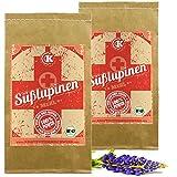 BIO Süßlupinenmehl - 2x1kg - 43% Protein - clever Kalorien reduzieren - als nahrhafte Teig-Ergänzung oder für leckere Eiweiß-Shakes