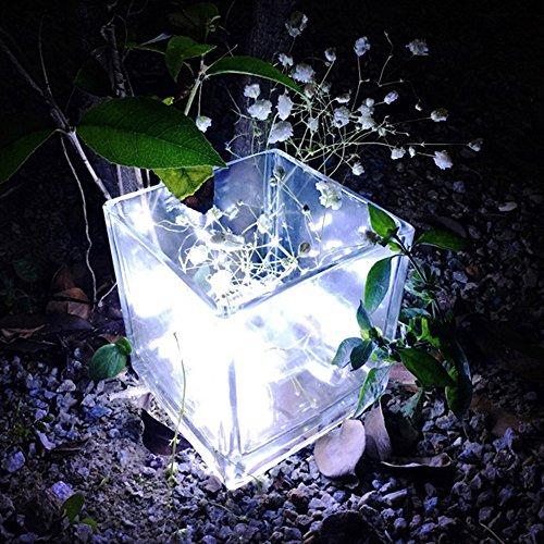 Lichterkette FeiliandaJJ 3M 30LED Lichterkette Kupferdrahtlampe Weihnachten Dekoration für Bar, Party, Zimmer, Garten, Balkon, Weihnachten, Halloween, Hochzeit (Weiß)