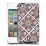 Head Case Designs Muster Schwarz und Pink Ruckseite Hülle für Apple iPod Touch 4G 4th Gen