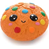 Anboor Squishies Chocolate Cookies Biscuit Kawaii Slow Rising Squishies Squeeze Toys Stress Relief Soft Gift Collection
