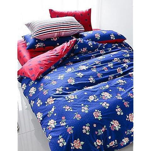Ropa de cama de GL,ropa de cama,reactive impresión 4pcs lecho de la cubierta del duvet sábana establecer hogar almohada ropa de cama textil americana