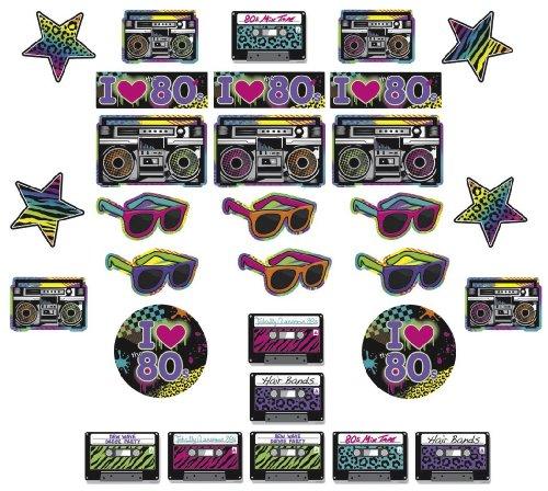 ER - 80er JAHRE - (80er Jahre Party-thema)