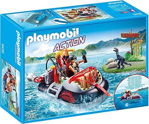 Playmobil- Aerodeslizador Motor Submarino Juguete