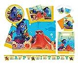 Procos 10110964B Partyset Disney Pixar Findet Dorie, Größe M, 50 teilig