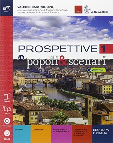 Prospettive di popoli & scenari. Con Quaderno-Extrakit-Openbook. Per le Scuole superiori. Con e-book. Con espansione online: 1