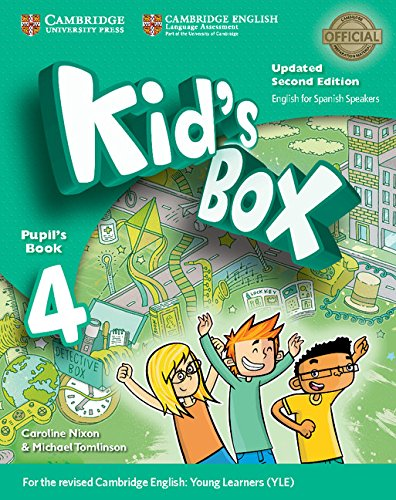 Kid's Box Level 4 Pupil's Book Updated English for Spanish Speakers Second Edition