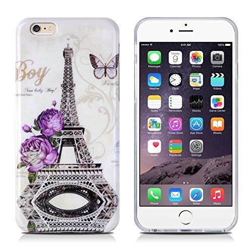 """Apple iPhone 5 / 5s """"kleine Fee"""" Case Schutzhülle / Handyhülle Farbe : Gold Paris"""