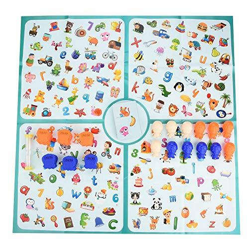Zerodis Kinder Pädagogisches Brettspiel Set Detektiv auf der Suche nach Diagramm Eltern Kind Interaktives Spiel Spielzeug Bunte Beobachtung Spielzeug für Jungen Mädchen über 3 Jahre alte Geschenke (Pädagogische Kinder Für Brettspiele)