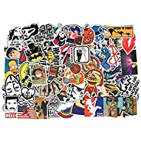 100 Pieces Mixed Stickers Random Cool Skateboard Luggage Vinyl Decals Laptop Phone Waterproof Toy Bike DIY Sticker
