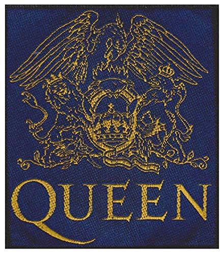 Queen Reina de Escudo Parche Azul