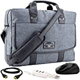 "VanGoddy Chrono Laptop Bag w/ 3PC Accessory Bundle for Acer TravelMate / Aspire / ChromeBook / Swift / Spin / V Nitro 14""-15.6inch"